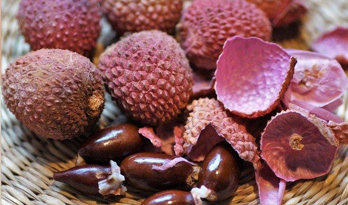 open lychee