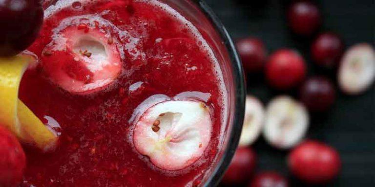 Can You Freeze Cranberry Juice